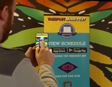 Treefort AR Application