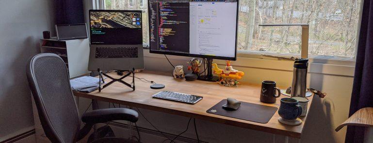 Blog home workstation