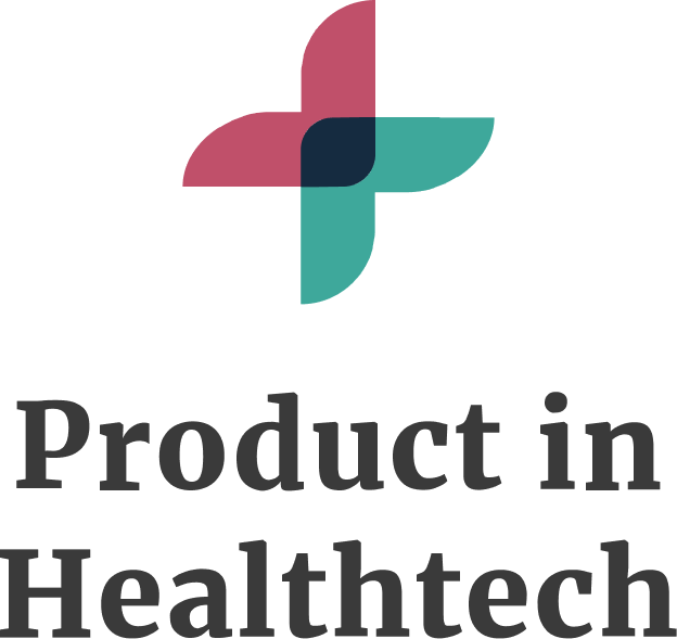 Product in Healthtech Logo Stacked